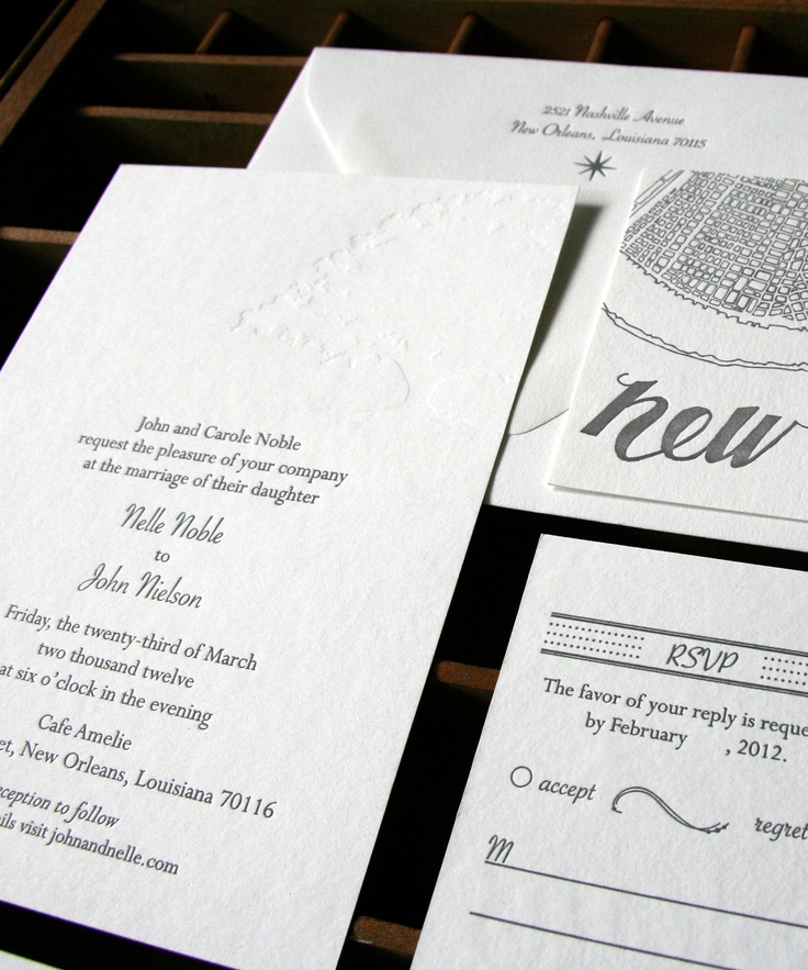 funny wedding invitation rsvp goes viral%0A Custom Wedding Invitations by Blackbird Letterpress   Oh So Beautiful Paper