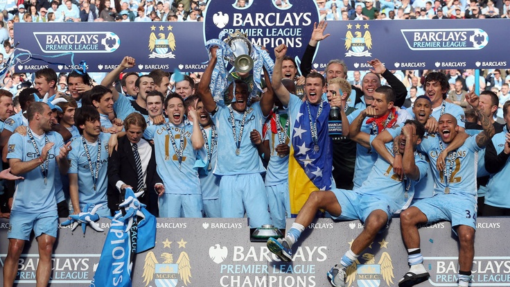 Manchester City - Premier League Champions 2012.