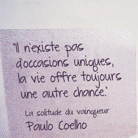 Occasions vie - Paulo Coelho