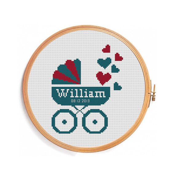 Hey, I found this really awesome Etsy listing at https://www.etsy.com/listing/181706929/pram-cross-stitch-digital-personalized