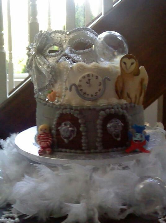 Labyrinth Cake Camilia S First Birthday Pinterest
