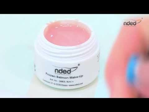 #video #uvgel #nails Gelnägel selber machen mit UV Gel. http://www.nded.de/uv-gel-farbgel/uv-gele/