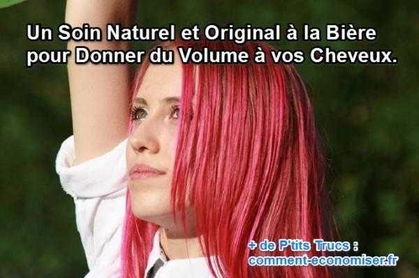 Rien de tel qu'un soin naturel à la bière pour donner du volume à ses cheveux. Ça peut paraître surprenant et pourtant, le volume est bien au rendez-vous.  Découvrez l'astuce ici : http://www.comment-economiser.fr/soin-naturel-pour-cheveux.html?utm_content=bufferb8d91&utm_medium=social&utm_source=pinterest.com&utm_campaign=buffer