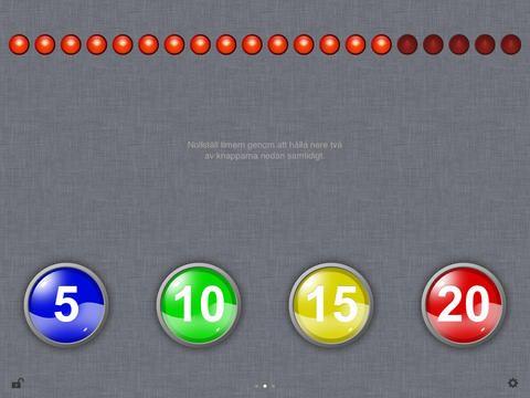 Timstock - Timstock är ett verktyg för att visuellt visa tid mellan 1 och 300 minuter. Ett hjälpmedel för de som har svårt att förstå det abstrakta begreppet tid.