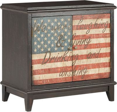 Eric Church Highway To Home Arrow Ridge Ebony 28 in. Bar Cabinet . $275.00. 28W x 15D x 27H. Find affordable Accent Cabinets for your home that will complement the rest of your furniture. #iSofa #roomstogo