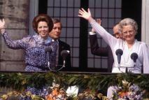 Beatriz de Holanda, la reina de la sonrisa