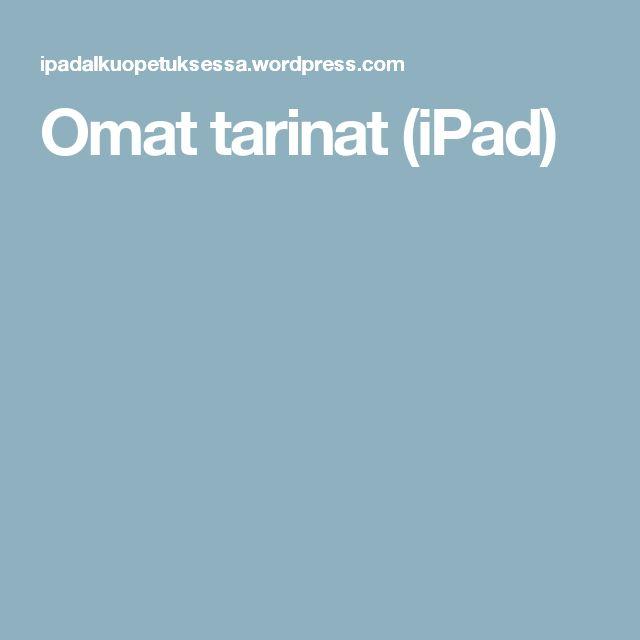 Omat tarinat (iPad)