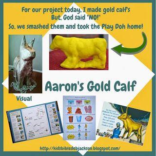 Bible Fun For Kids: Moses: Aaron's Gold Calf