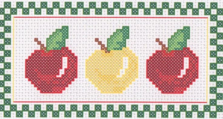 It's Apple Season Counted Cross Stitch