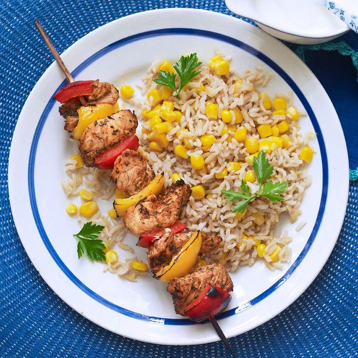 No Count piri piri kebabs Recipe | Weight Watchers UK