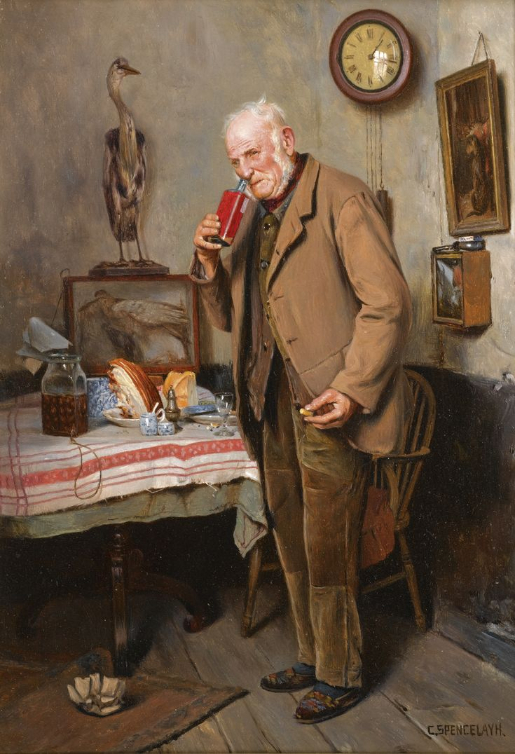 Login for price realized eugenio zampighi skinner login for price - Charles Spencelayh 1865 1958 Sure To Cure Signed L R C Spencelayh Oil On