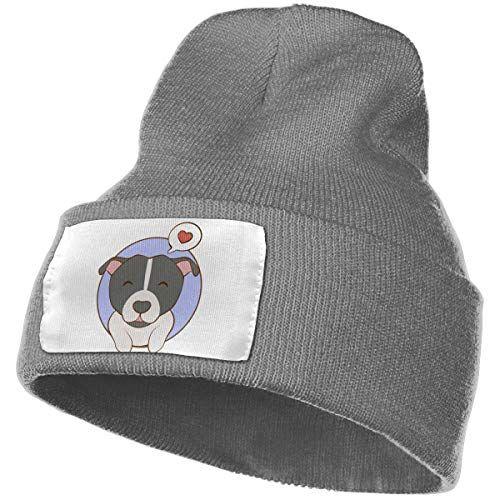 I Love My Pitbull1 Skull Cap Men Women Knitting Hats Stretchy /& Soft Beanie