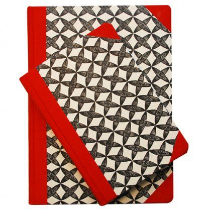 I like a similar combination as napkins