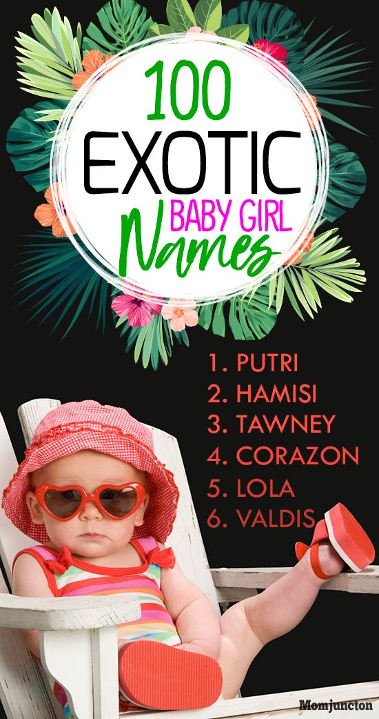 100 Truly Exotic Girl #Names For Your Baby : They have an appeal of their own and make the person stand out. Finding such names can be quite a task, and to make that easy, MomJunction brings you a list of 100 exotic baby girl names! Check out our list below.