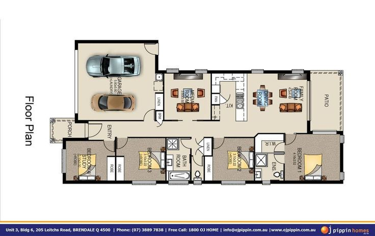 Lockyer 190 Floor Plan