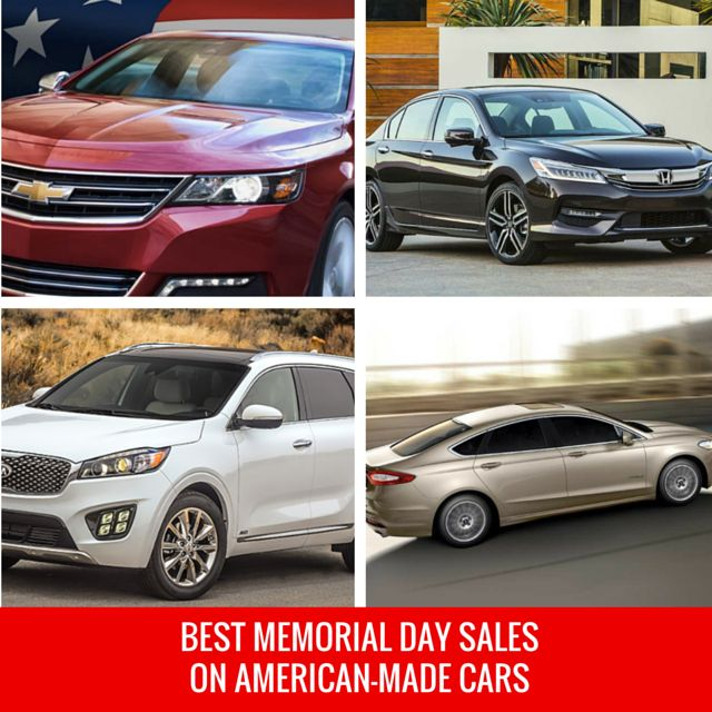 best memorial day car deals