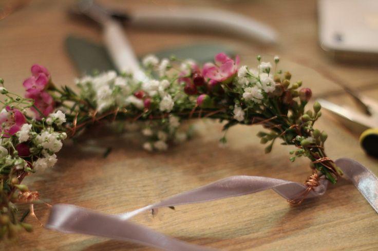 Blumenarmband mit echten BLumen