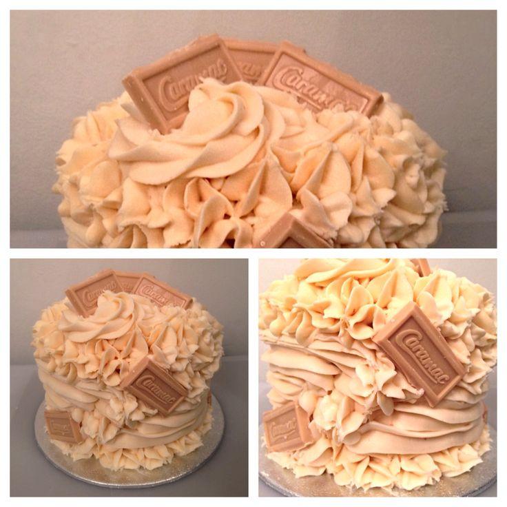 Golden Caramac Cake...