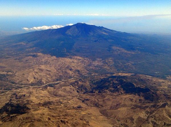 Один день на вулкане Этна во время сбора урожая-2012