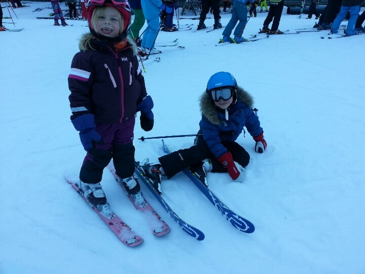 Skiing, Hemsedal