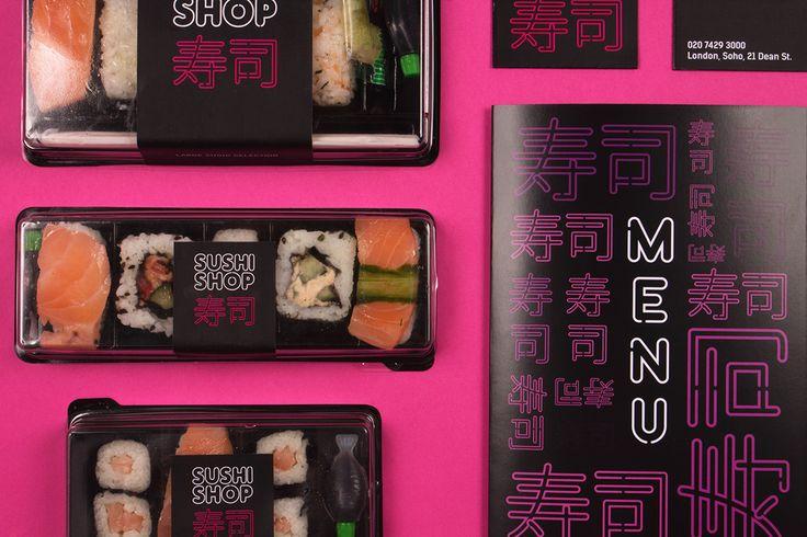 Sushi Shop Menu Design. Dan Everitt on Behance