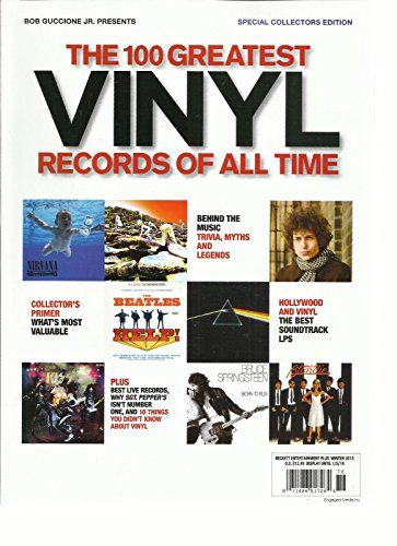The 100 Greatest Vinyl Records Of All Time Magazine Special Collectors Edition Vinyl Records All About Time Time Magazine