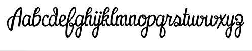 cool tattoo font.
