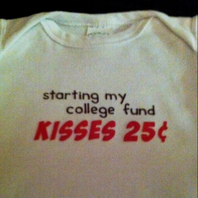 Family better start saving their quarters :): Awww, Kiss, Start Save, Baby Boys, Cute Baby Clothing, Better Start, Families Better, Fund Ideas, Quarter