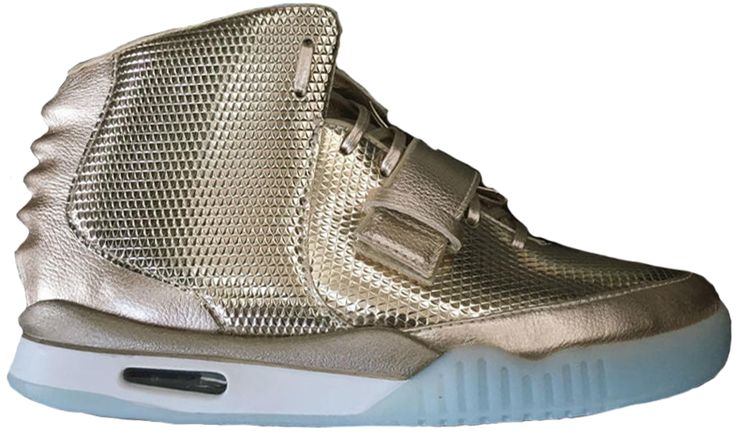 Check out the Air Yeezy 2 John Geiger x LASCO Golden Child available on StockX