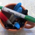 Sharpie® Brush Tip Permanent Markers Review