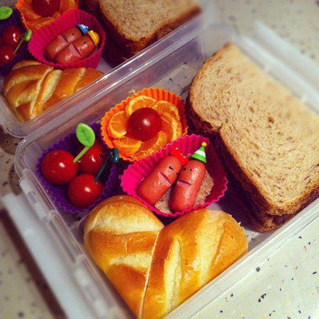 Leuk voor kinderen: lollige lunchtrommels. Niks geen zorgen meer over gedoe met groenten en fruit, want zo eten ze hun lunch wel op.