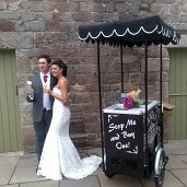 Having a wedding or corporate ⁄ special event? why not surprise your guests with our luxurious ice cream and nostalgic sweet supply service. Watch their faces light up with delight when they see us arrive on our retro bicycle to distribute an abundance of treats. Our ice cream bicycle hire packages start from just £1 per person and can save you money on costly venue dessert packages. www.onestopweddingshopstaffordshire.co.uk