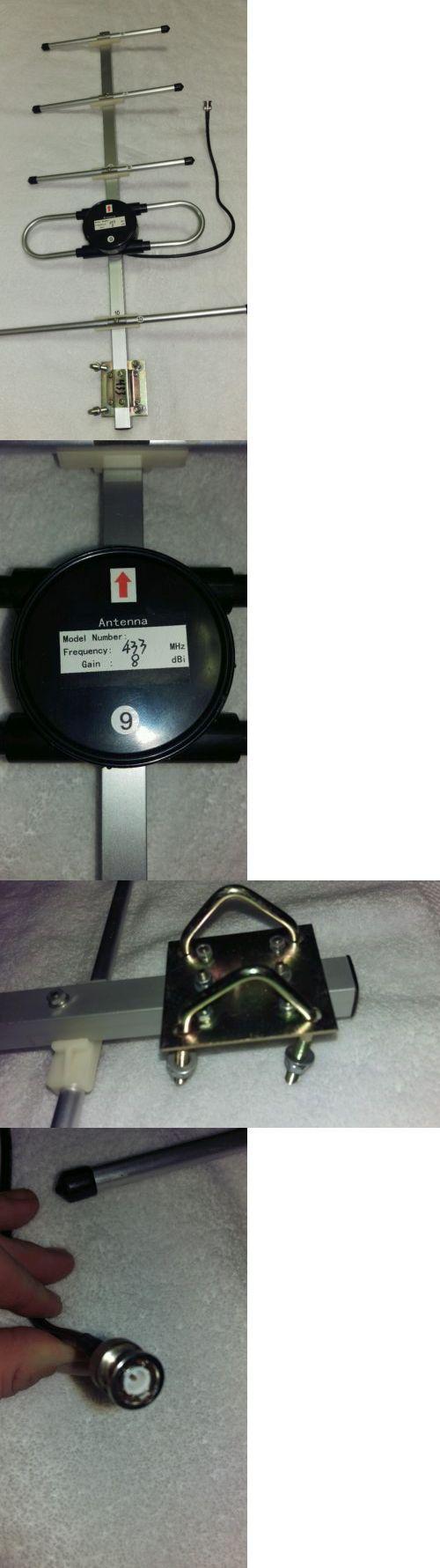 Other Radio Antennas: Scherrer 433Mhz Yagi Antenna 8 Dbi Fpv Video Drone Uav BUY IT NOW ONLY: $80.0