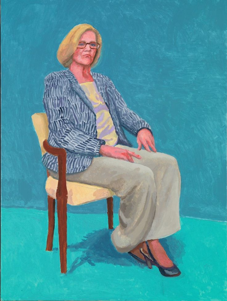 A brush with genius: Barry Humphries on sitting for David Hockney RA | Blog…