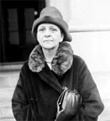 Frances Perkins - The first woman appointed to a US cabinet. She was US Secretary of Labor for President FDR.
