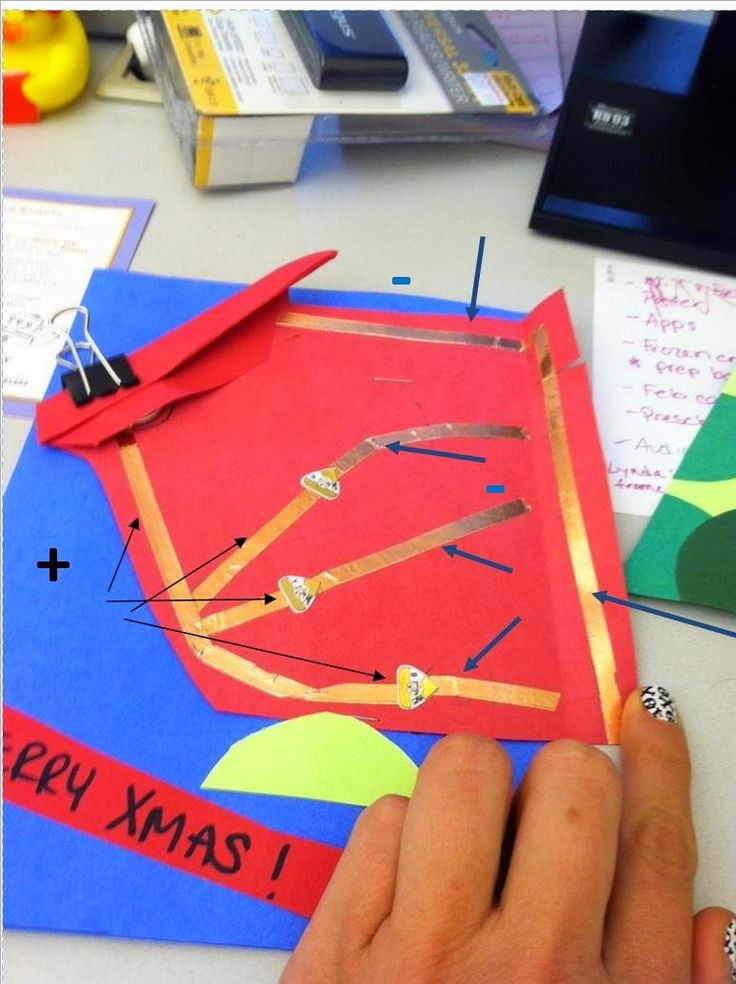 LIBRARY AS MAKERSPACE: Electronic Holiday Cards Take 2