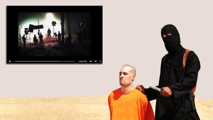CyberBerkut leakt Beweisvideo: IS-Hinrichtung im Filmstudio gedreht