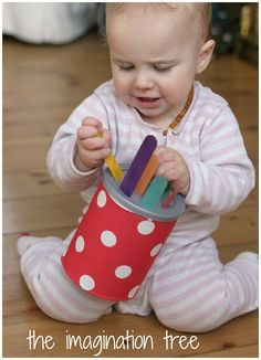 4 DIY Baby and Toddler Toys for Motor Skills