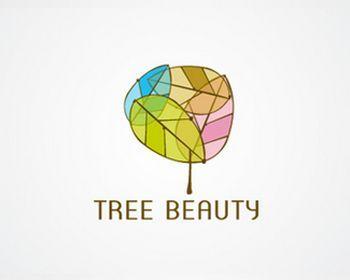 100 Tree Themed Дизайн логотипа - DESIGGN
