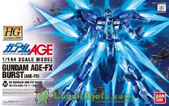 Gundam Age Fx Burst