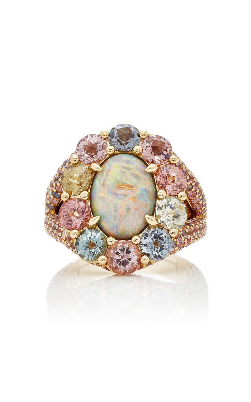 Cinta Australian opal ring by John Hardy