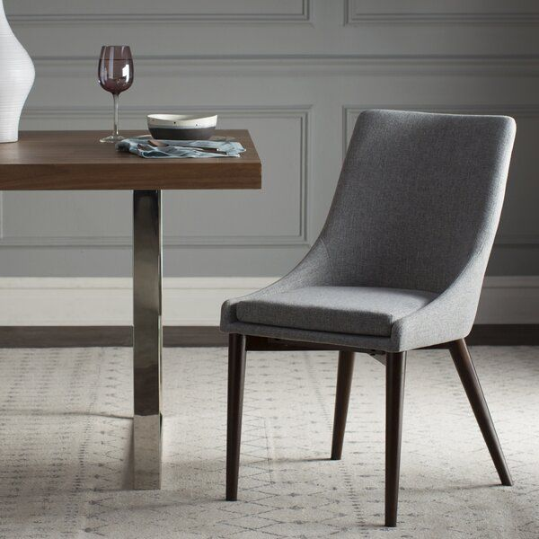Henry Solid Wood Dining Chair In 2020 Upholstered Dining Chairs