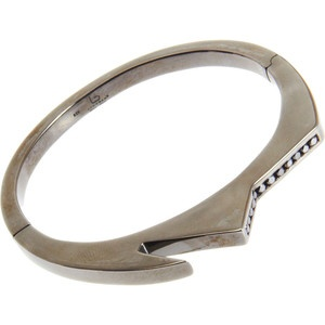 I've wanted a handcuff bangle for years. This one has diamonds! - Lynn Ban