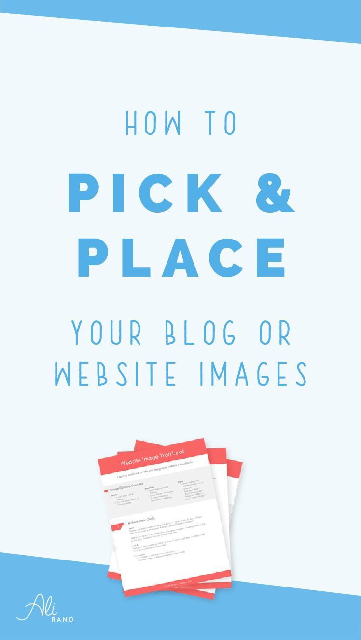 Struggling with deciding the right images to put on your blog or website? Learn how to pick and place images that actually boost your conversions and SEO >> https://alirand.com/choosing-website-images/