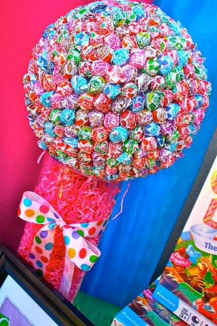 how to make lollipop centerpieces