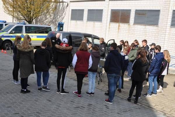 Pi Goslar Zukunftstag 2019 Bei Der Polizeiinspektion Goslar