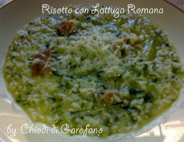 Risotto con Lattuga Romana http://blog.giallozafferano.it/chiodidigarofano/risotto-lattuga-romana