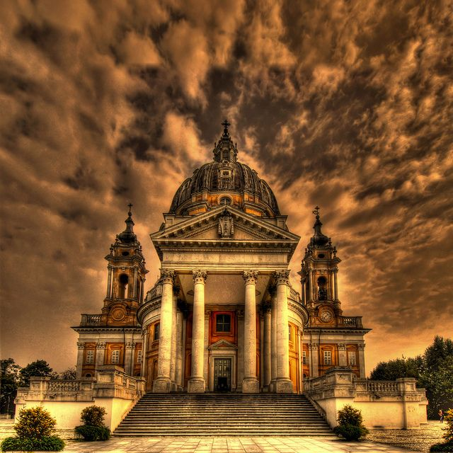 Basilica di Superga, Turin, Piedmont, Italy   Discover and collect amazing bucket lists created by local experts. #Torino #travel #local #bucket #list #bucketlist  www.cityisyours.com/explore