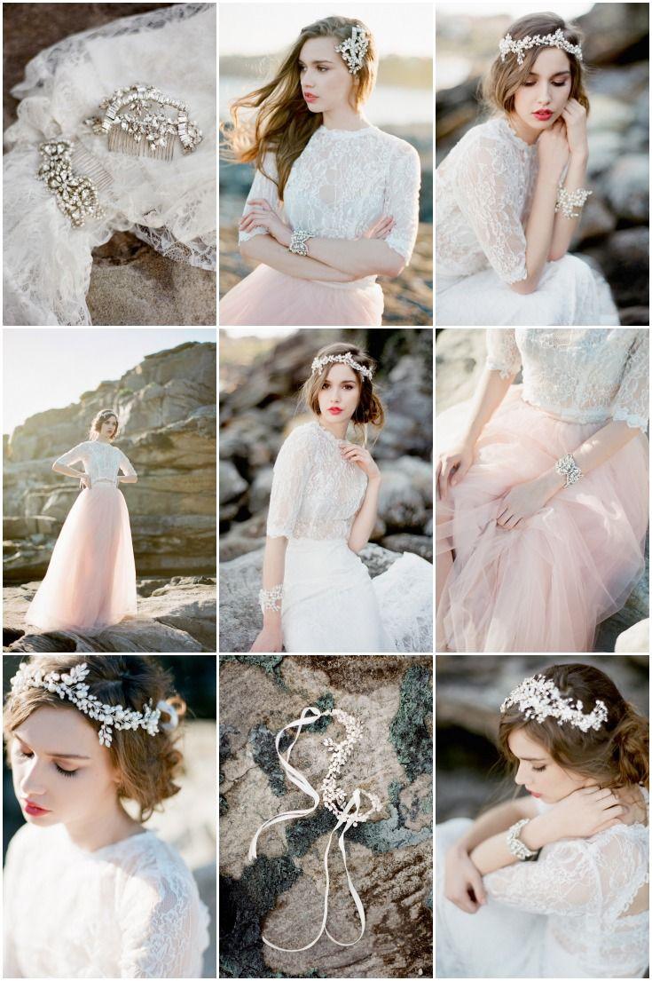 Dreamy bridal accessories by La Bride Boheme   Jemma Keech Photography