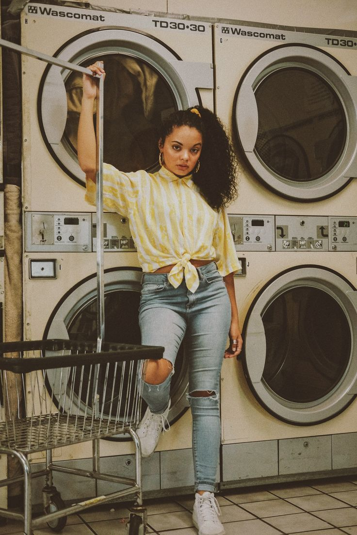 Download This Free Hd Photo Of Laundromat Photoshoot Laundromat Portrait And Person In Tulsa Unit Vintage Photoshoot Vintage Photo Editing Photoshoot Themes